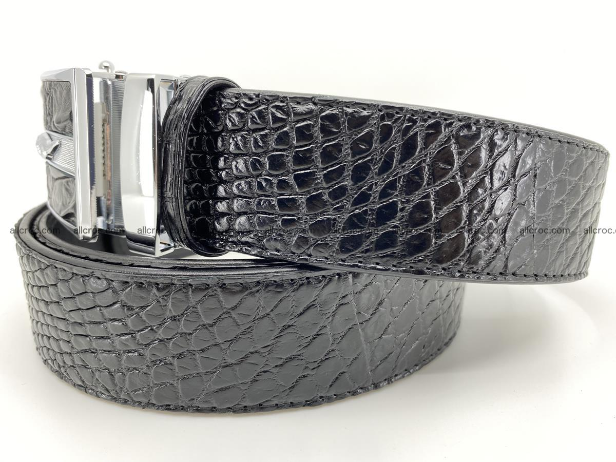 Crocodile leather belt 740 Foto 1