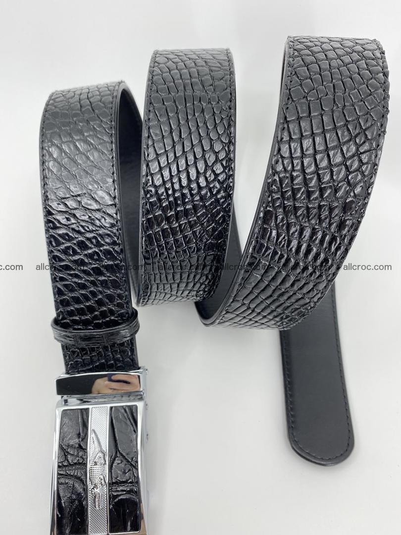Crocodile leather belt 740 Foto 7