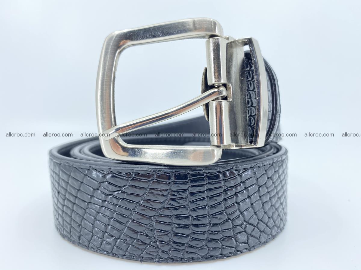 Crocodile leather belt 742 Foto 0