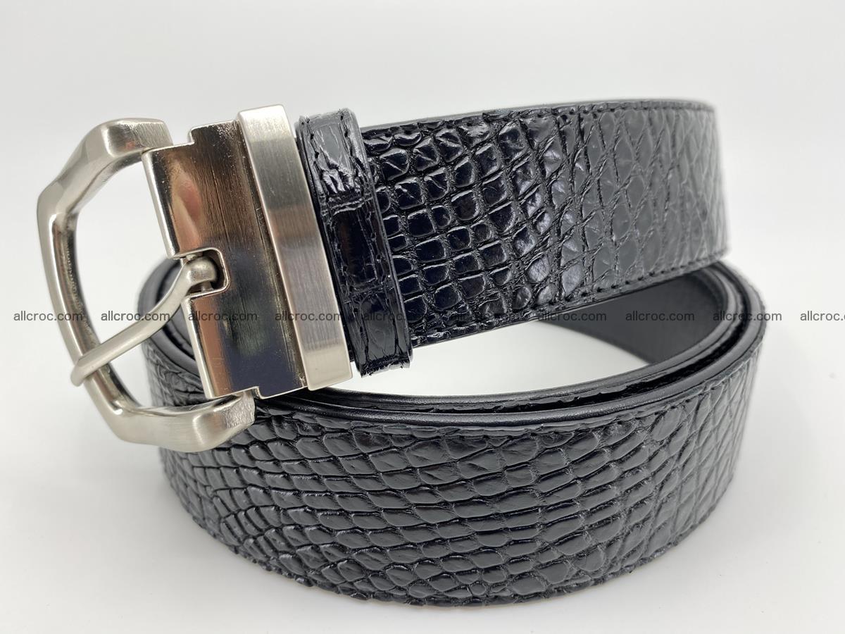 Crocodile leather belt 742 Foto 1