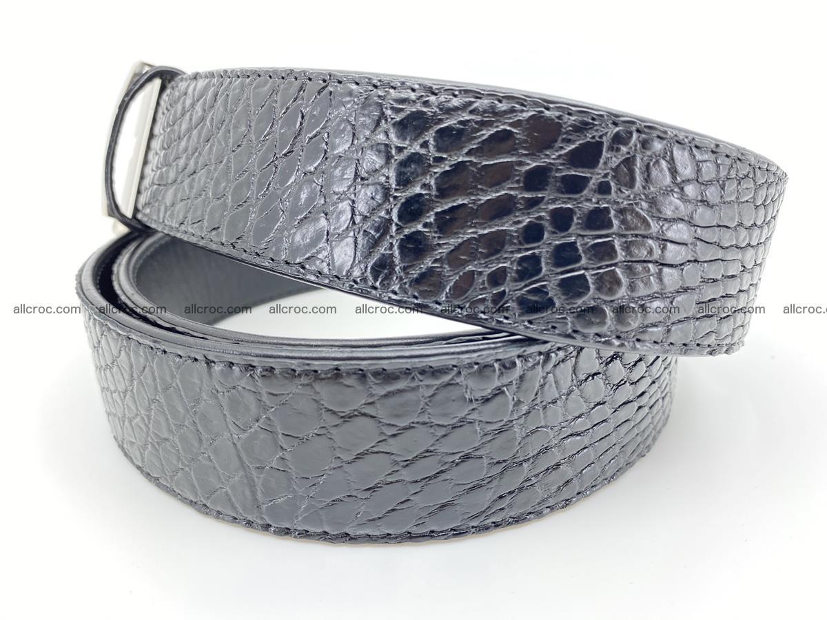 Crocodile leather belt 742 Foto 3