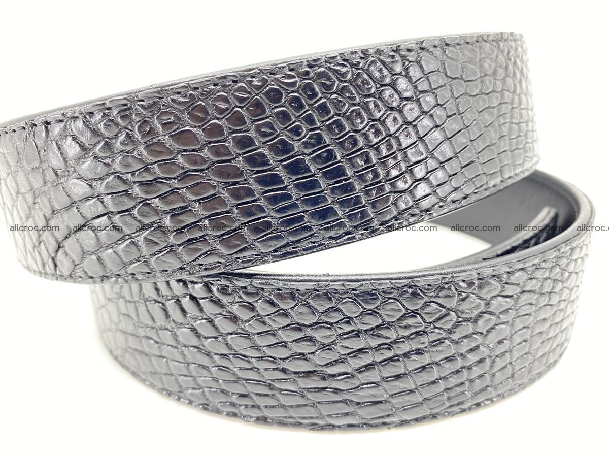 Crocodile leather belt 742 Foto 4