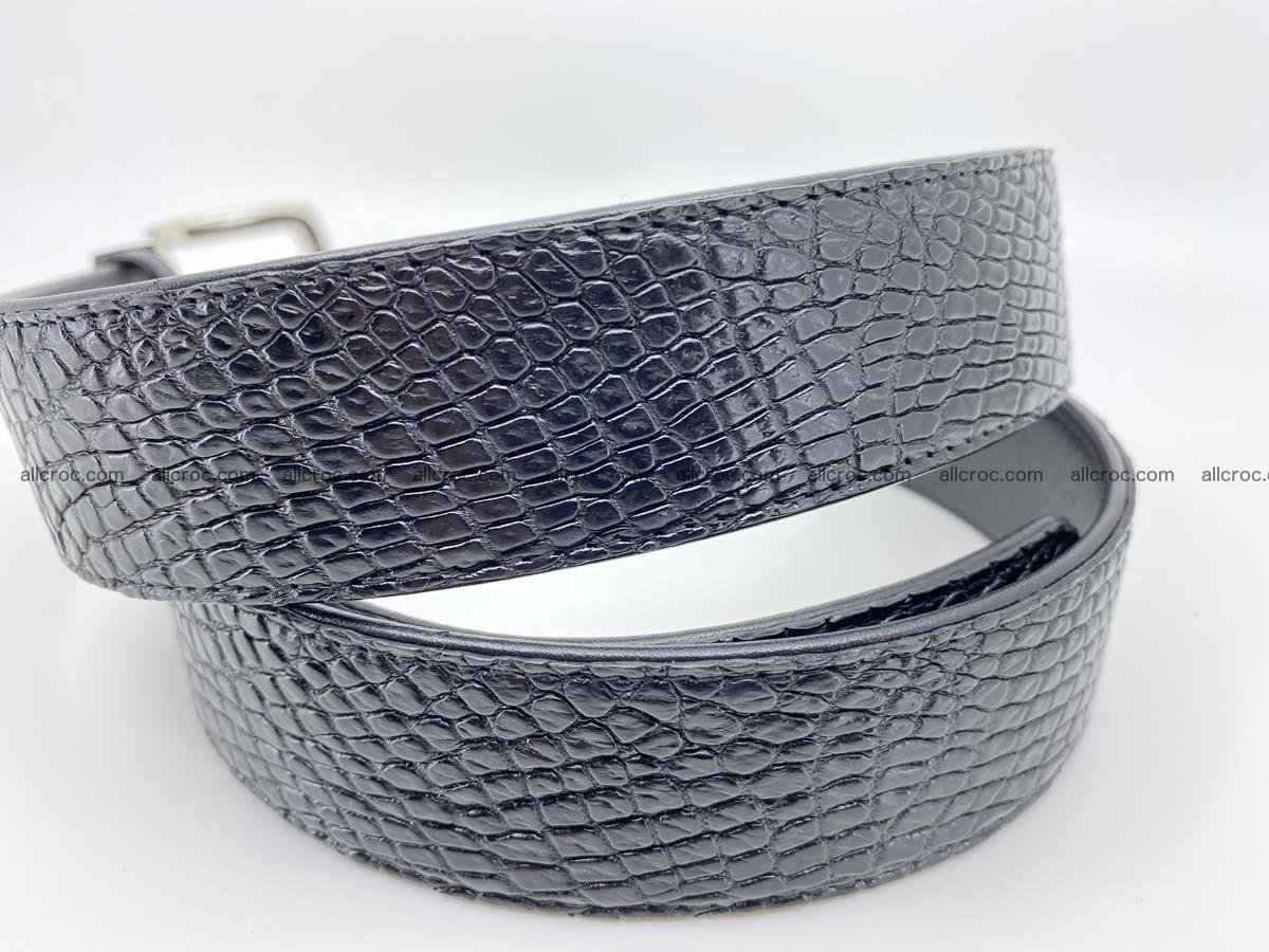 Crocodile leather belt 742 Foto 2