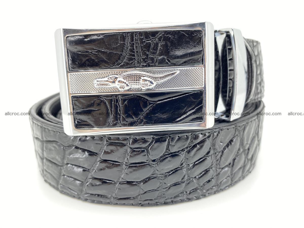 Crocodile leather belt 724 Foto 0