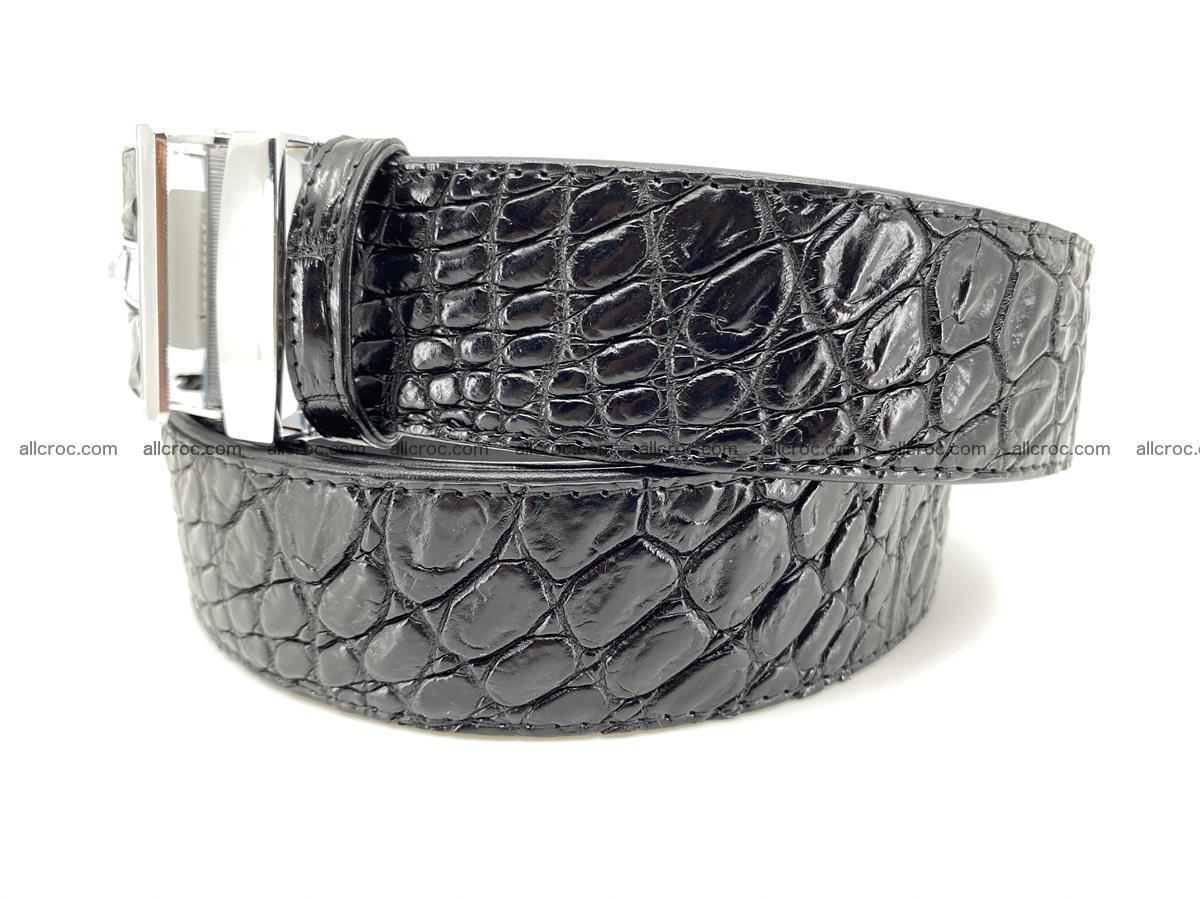 Crocodile leather belt 724 Foto 1