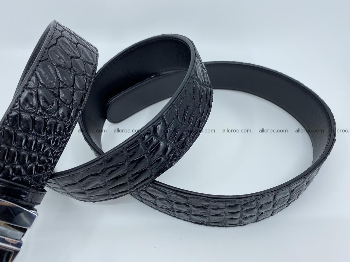 Crocodile leather belt 724 Foto 6