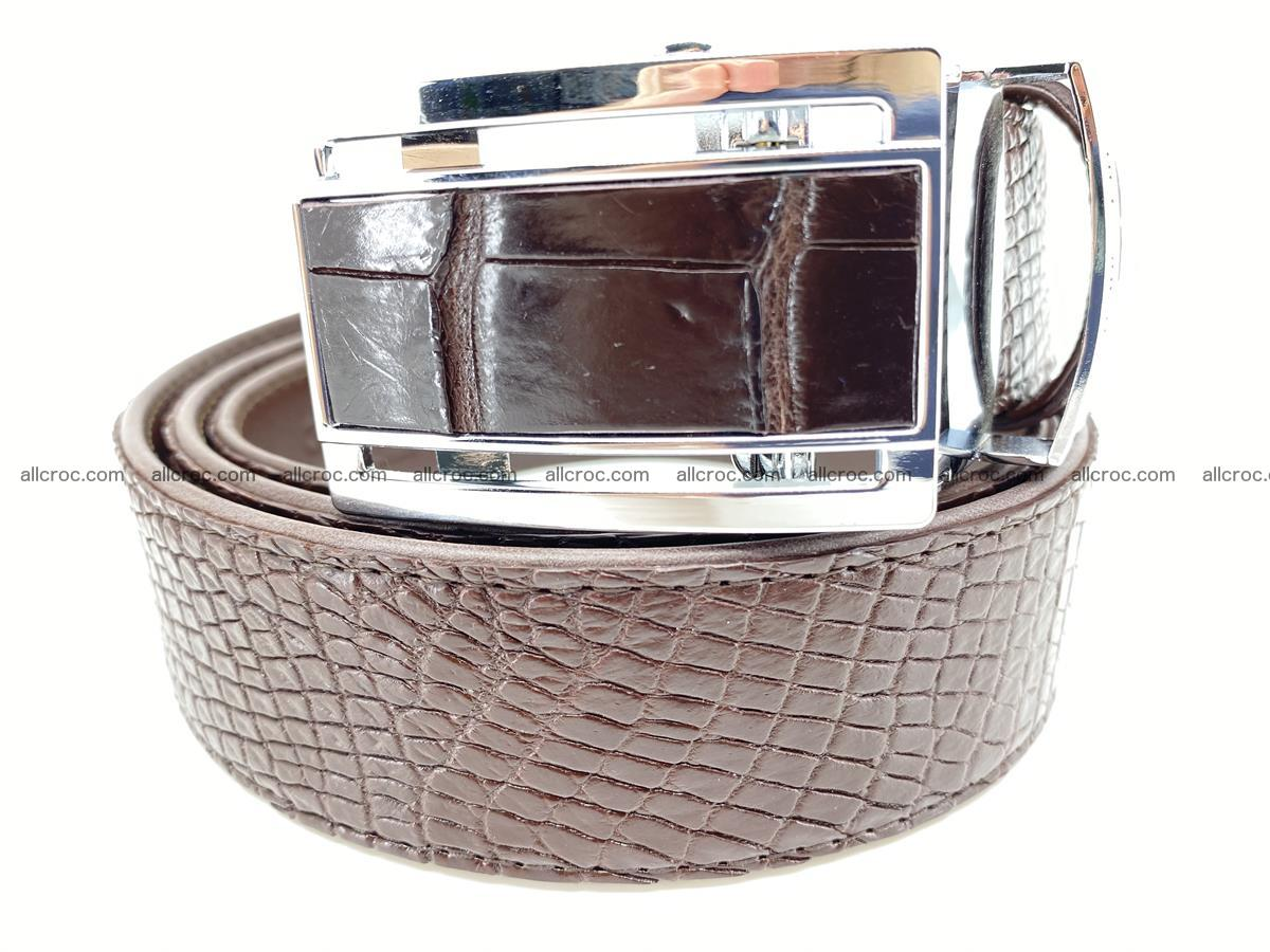 Crocodile leather belt 733 Foto 0