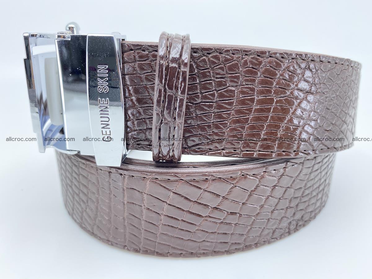 Crocodile leather belt 733 Foto 1