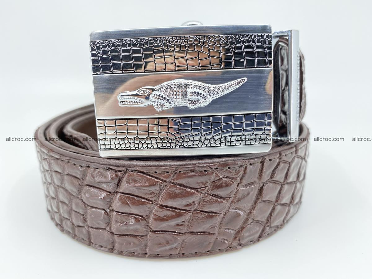 Crocodile leather belt 725 Foto 0