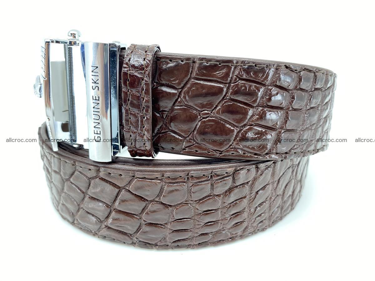 Crocodile leather belt 725 Foto 1