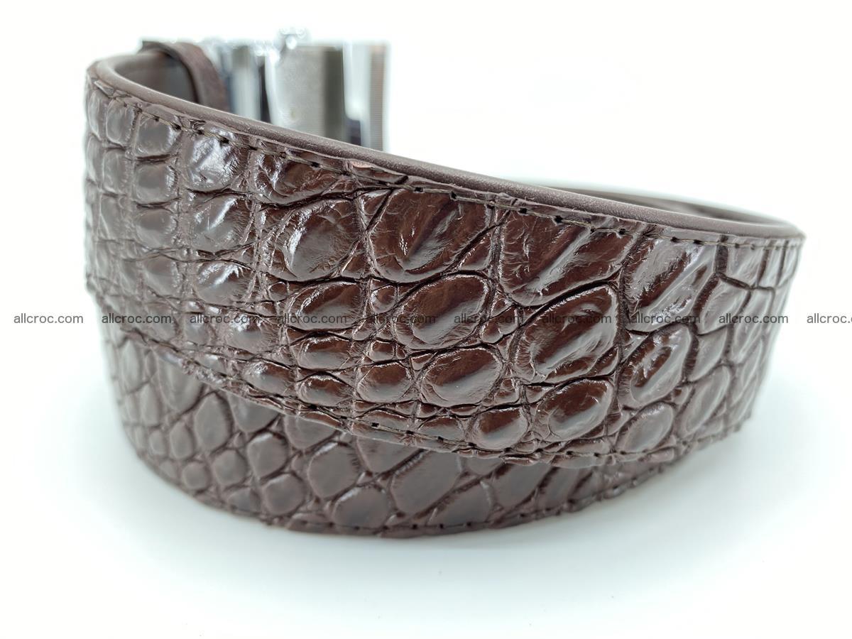 Crocodile leather belt 725 Foto 2