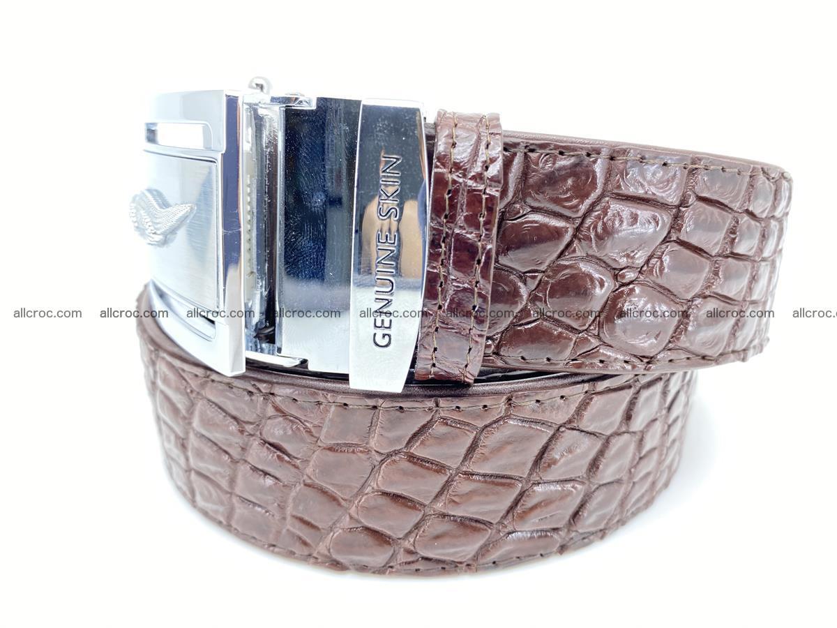 Crocodile leather belt 727 Foto 1