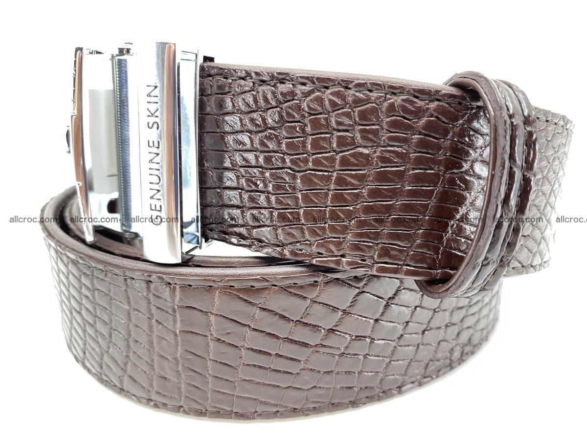 Crocodile leather belt 737 Foto 1