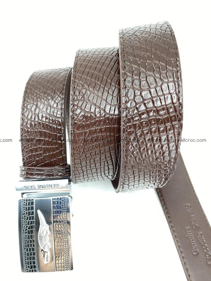 Crocodile leather belt 737 Foto 4