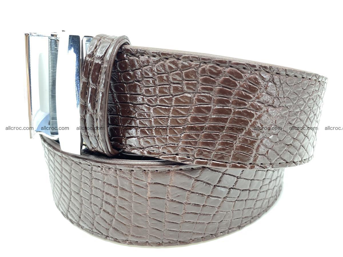 Crocodile leather belt 739 Foto 1