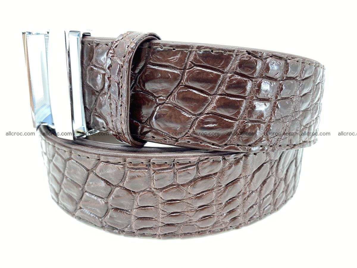 Crocodile leather belt 723 Foto 1