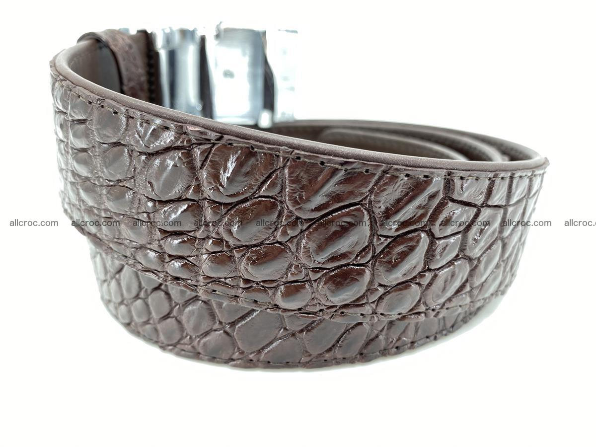 Crocodile leather belt 723 Foto 2