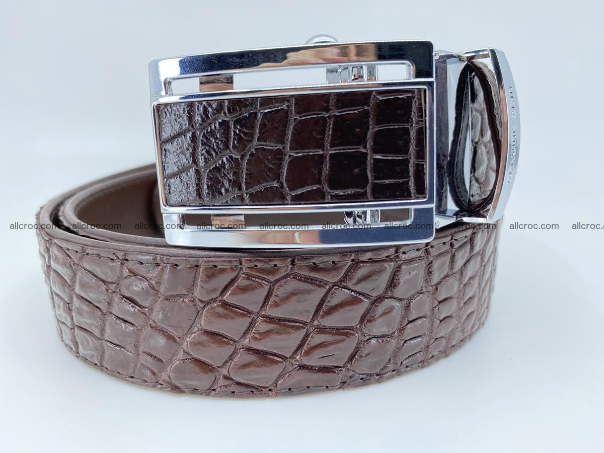 Crocodile leather belt 729 Foto 0