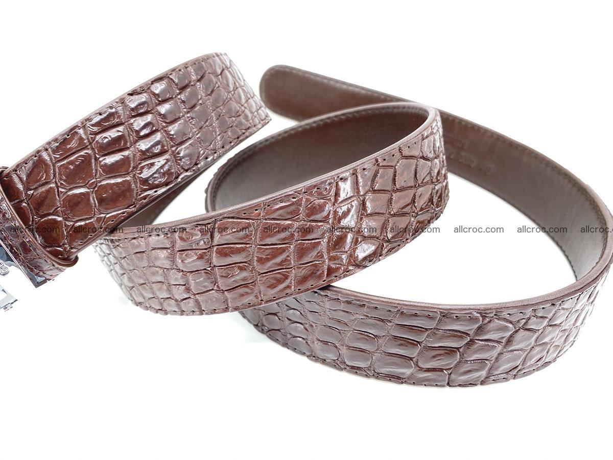 Crocodile leather belt 729 Foto 6