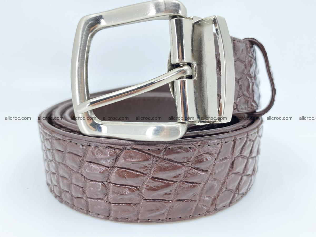 Crocodile leather belt 731 Foto 0