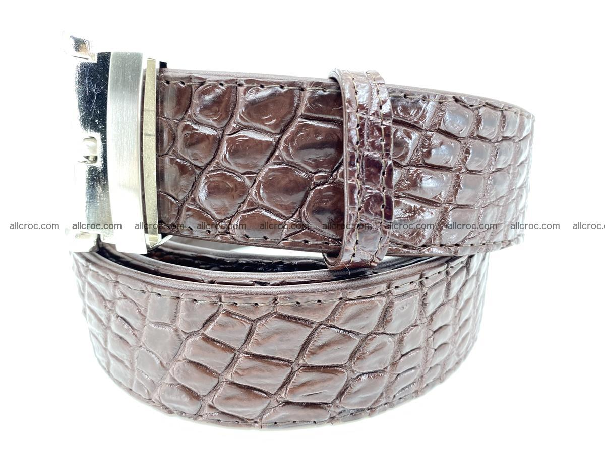Crocodile leather belt 731 Foto 1