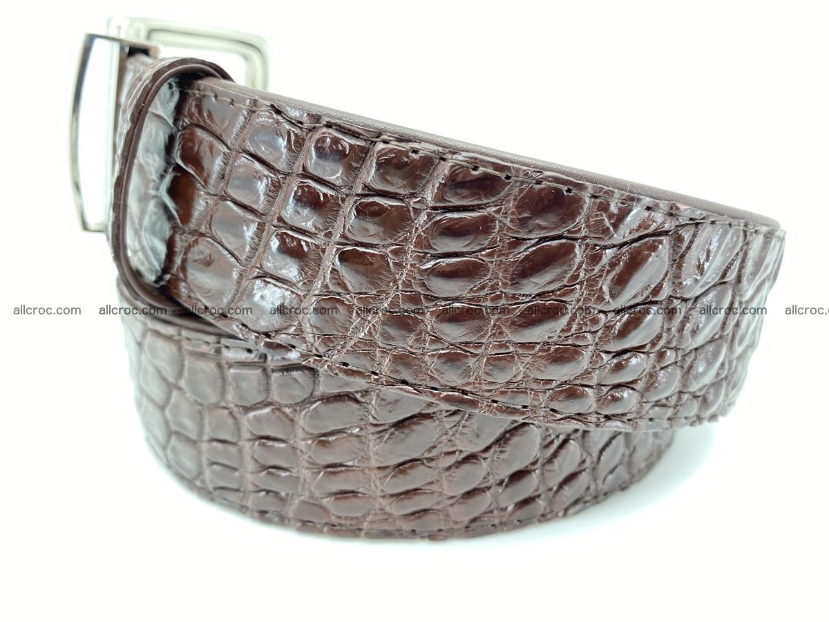 Crocodile leather belt 731 Foto 2