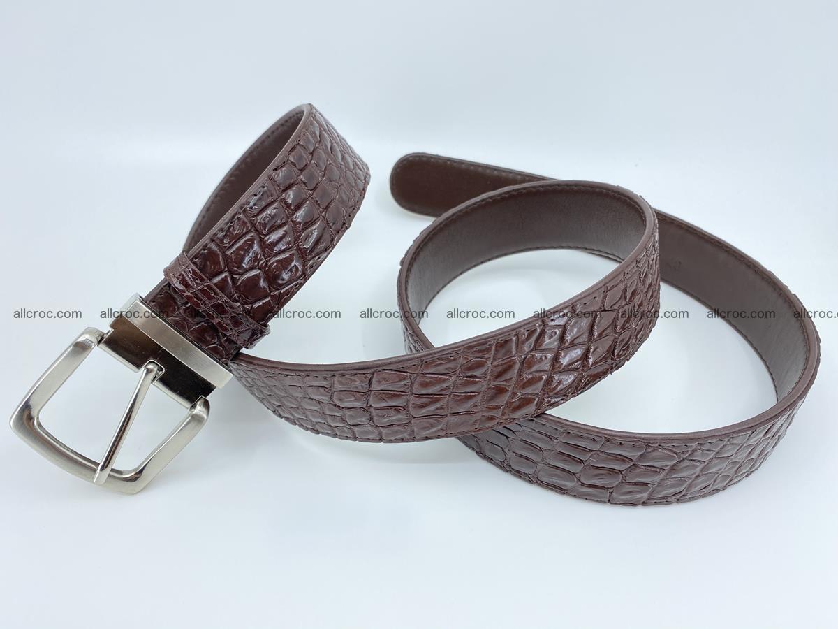 Crocodile leather belt 731 Foto 6