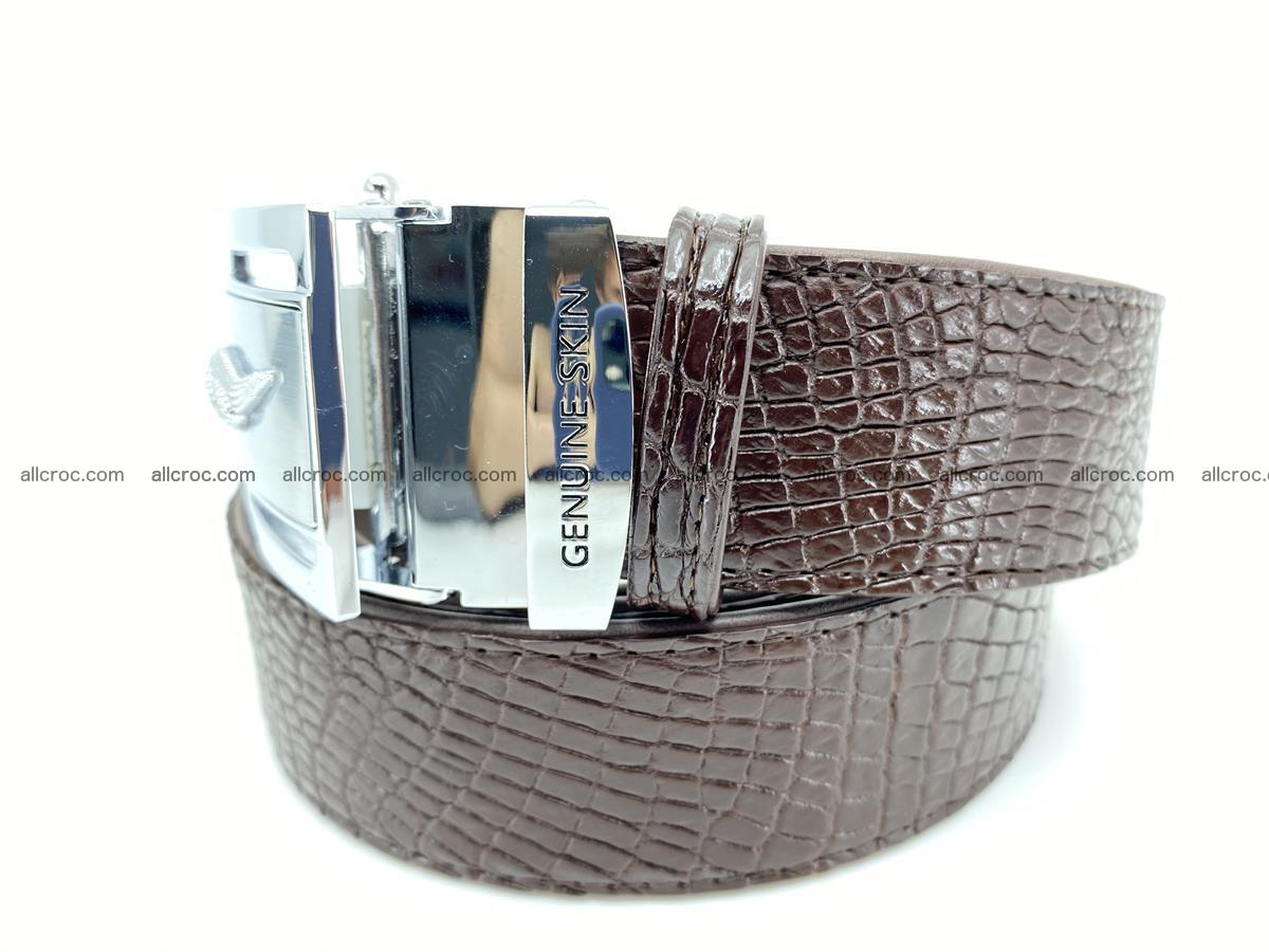 Crocodile leather belt 735 Foto 1