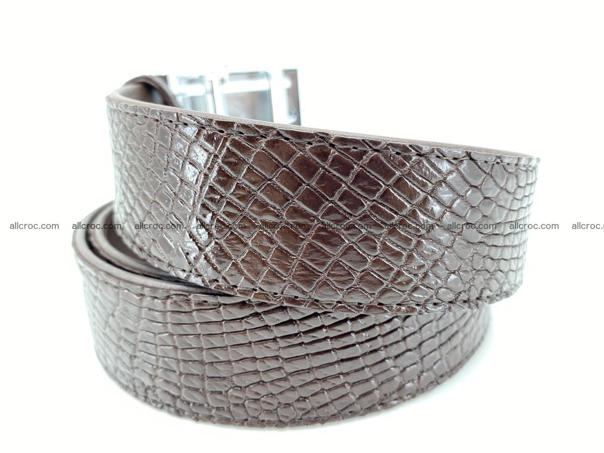 Crocodile leather belt 735 Foto 2