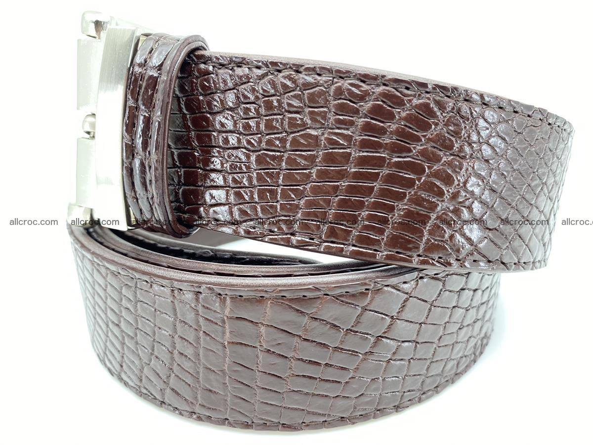Crocodile leather belt 741 Foto 1