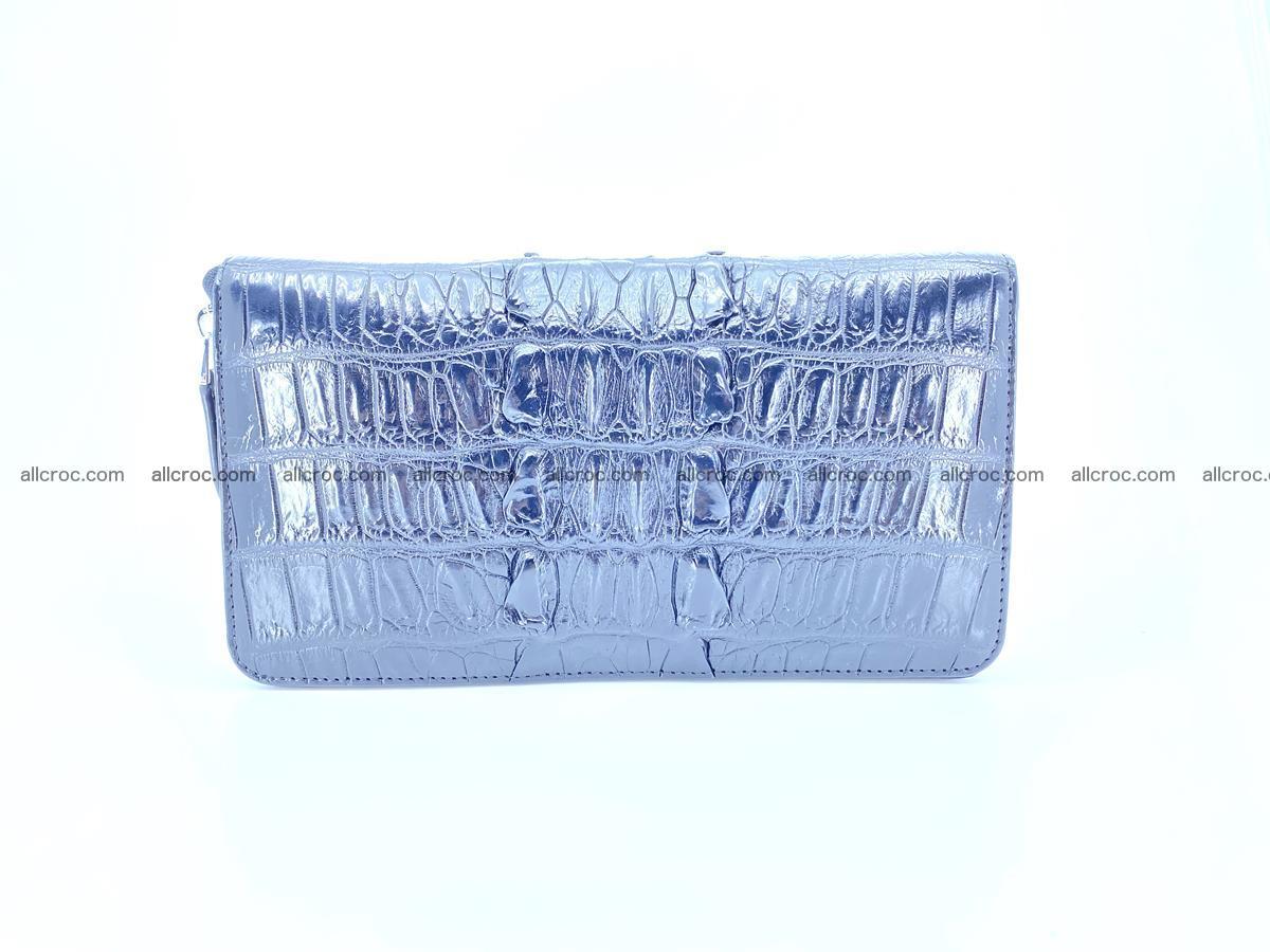 Crocodile skin zip wallet XL-size 598 Foto 2
