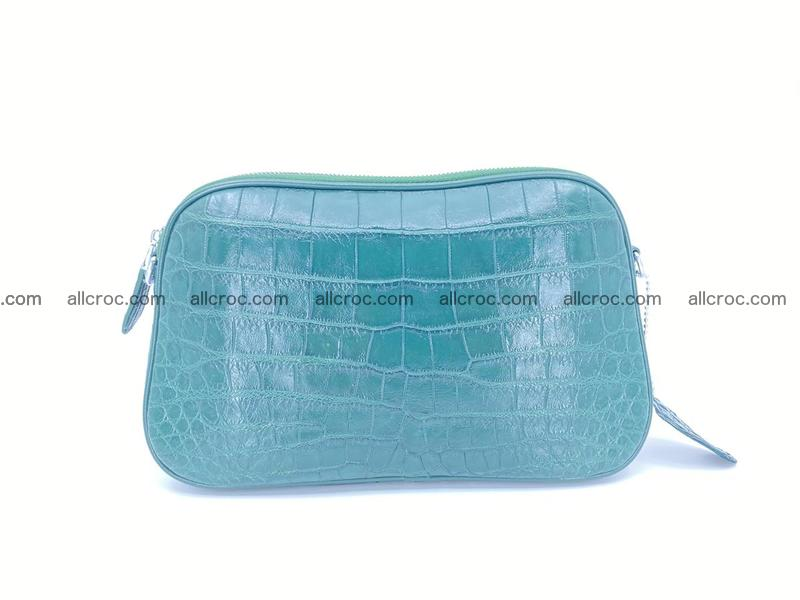 Crocodile leather clutch 671