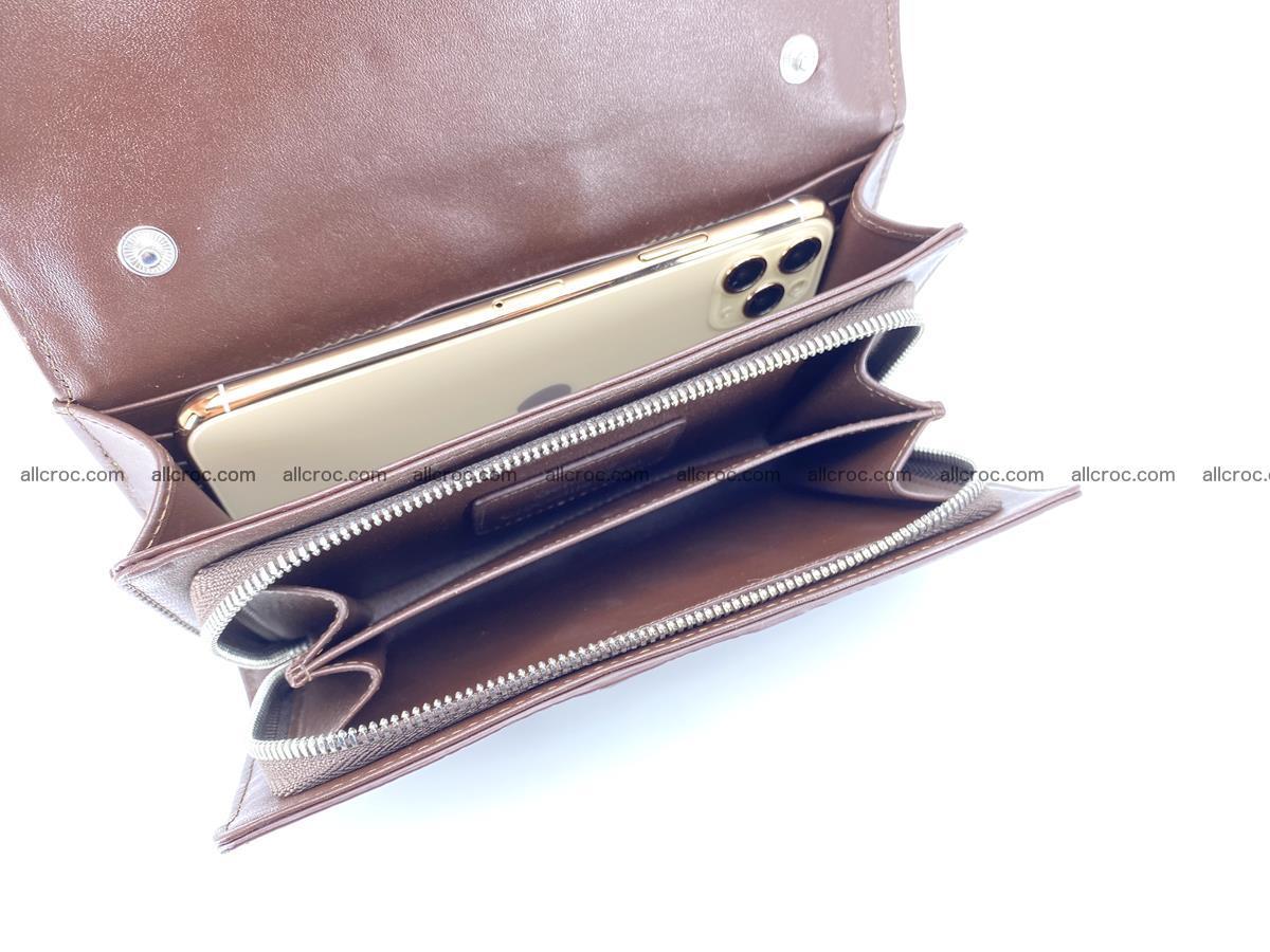 Crocodile leather clutch 674 Foto 7