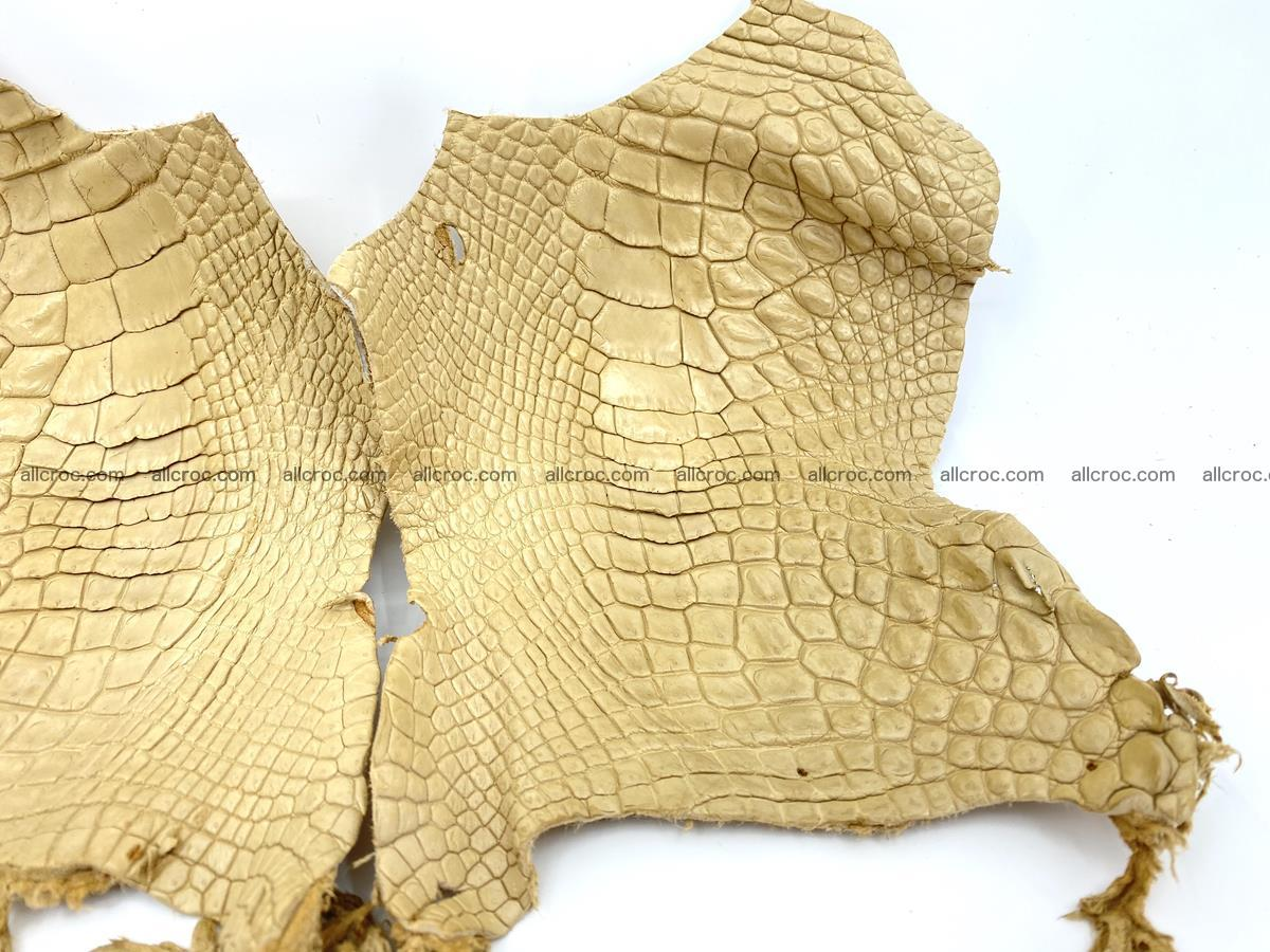 Crocodile leather for handcrafting  836 Foto 2