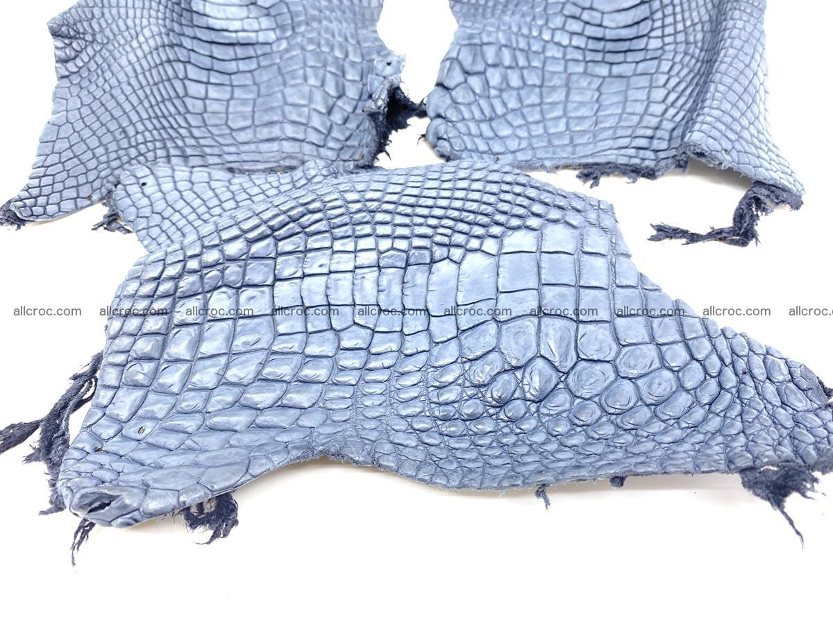 Crocodile leather for handcrafting  838 Foto 2