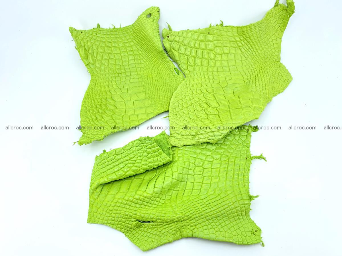 Crocodile leather for handcrafting  828 Foto 0