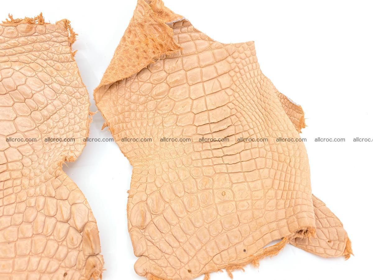 Crocodile leather for handcrafting  839 Foto 3