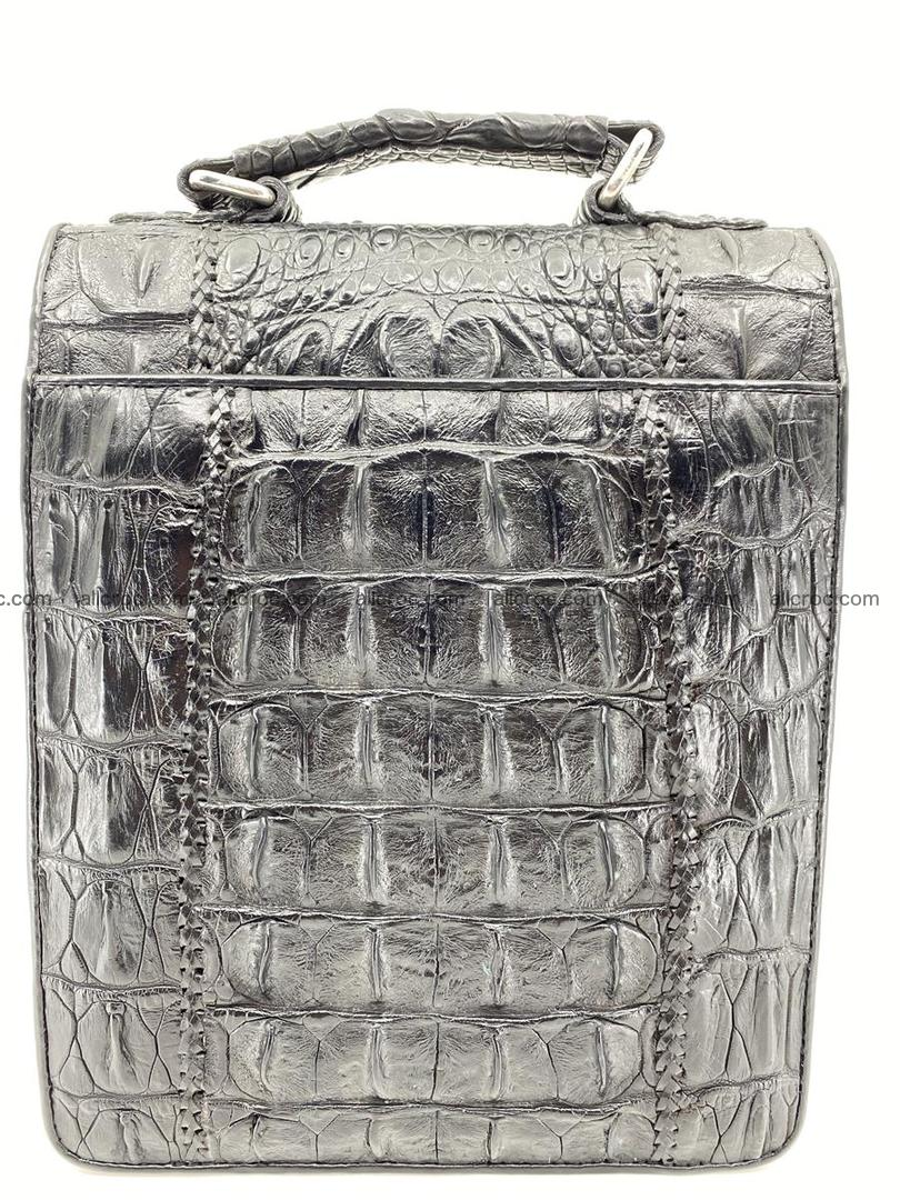 Crocodile leather handbag for men 691 Foto 1
