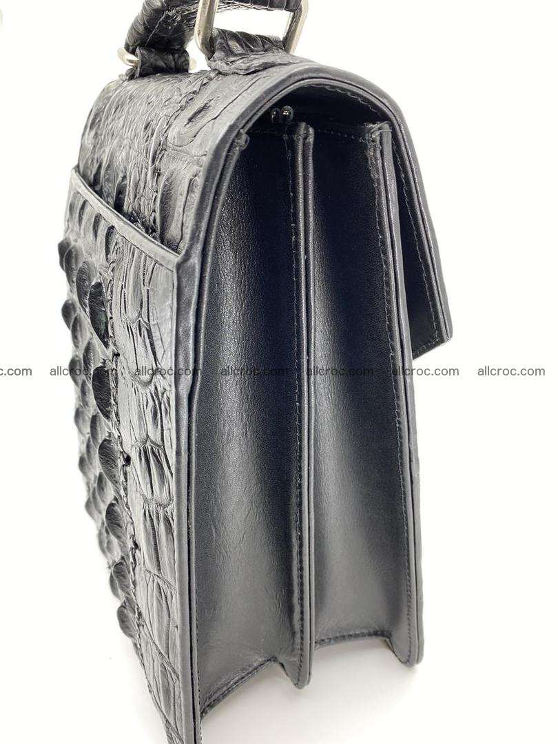 Crocodile leather handbag for men 691 Foto 2