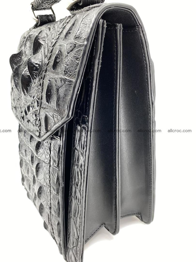 Crocodile leather handbag for men 691 Foto 4