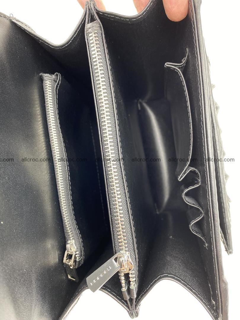 Crocodile leather handbag for men 900 Foto 12