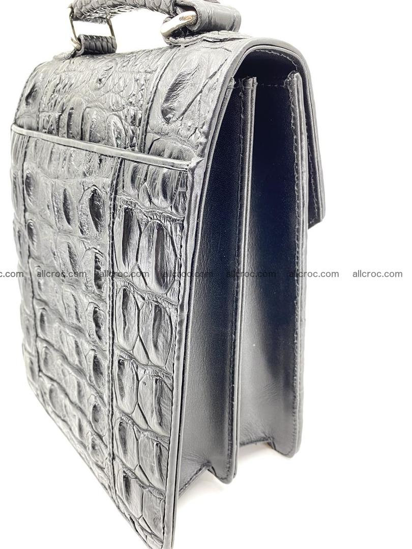 Crocodile leather handbag for men 692 Foto 2