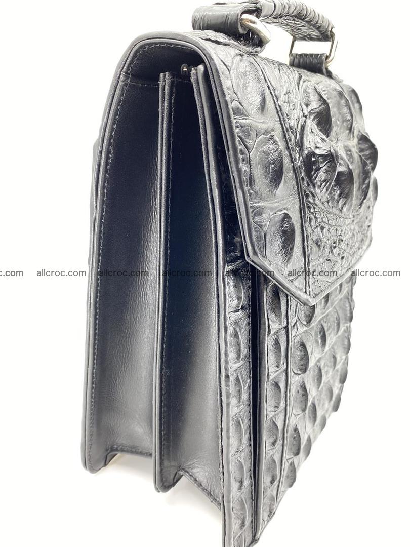 Crocodile leather handbag for men 692 Foto 4