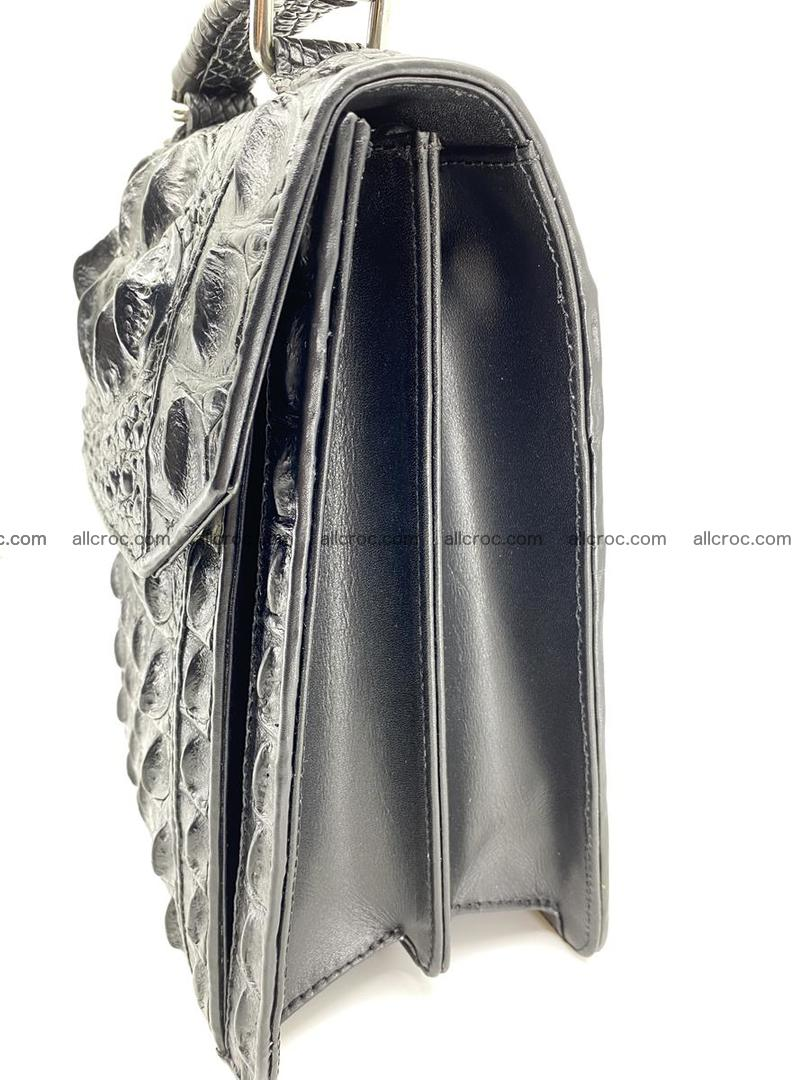 Crocodile leather handbag for men 692 Foto 5