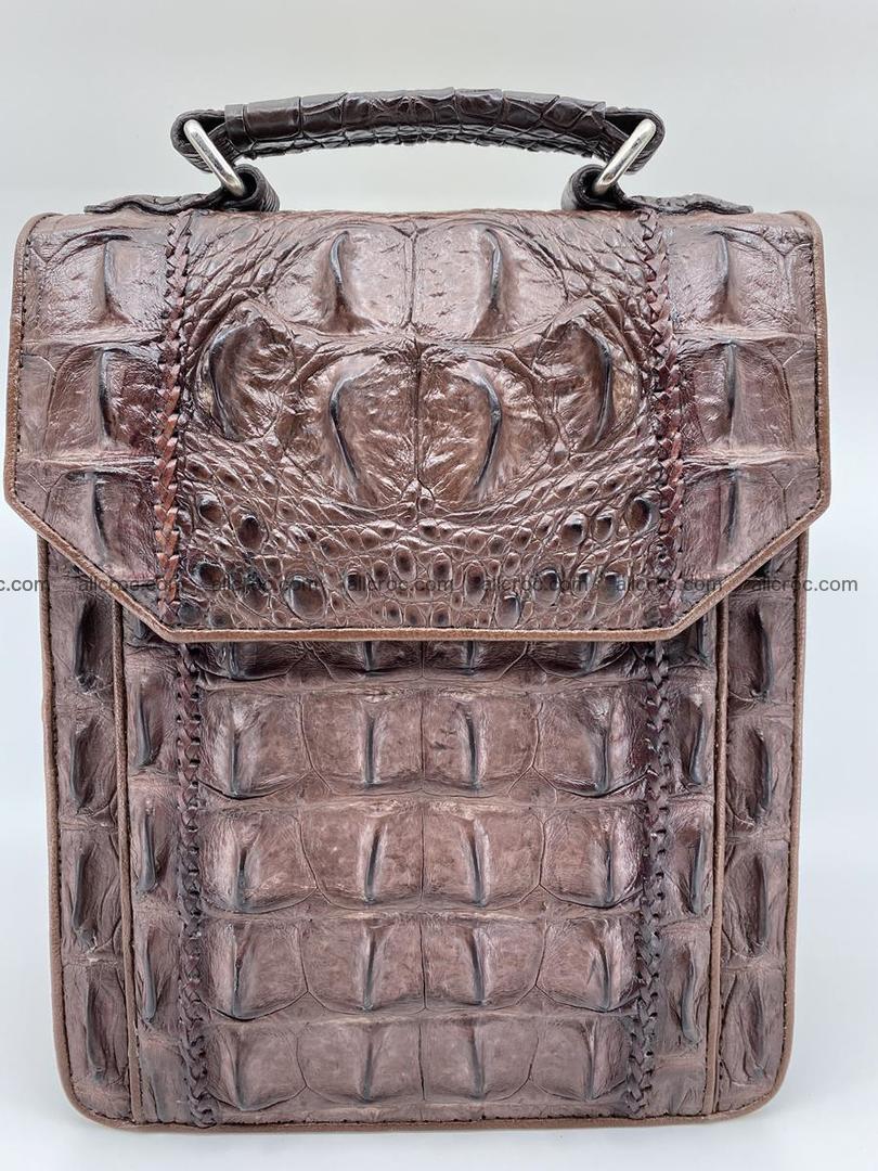 Crocodile leather handbag for men 693 Foto 0
