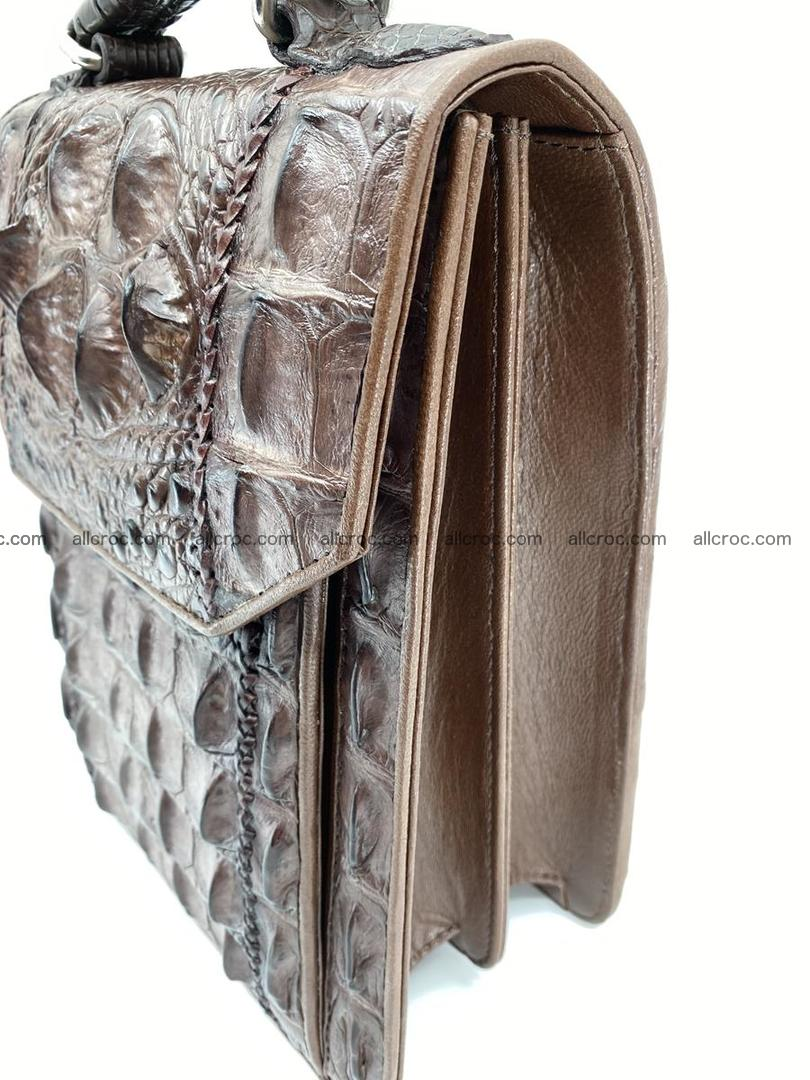 Crocodile leather handbag for men 693 Foto 4