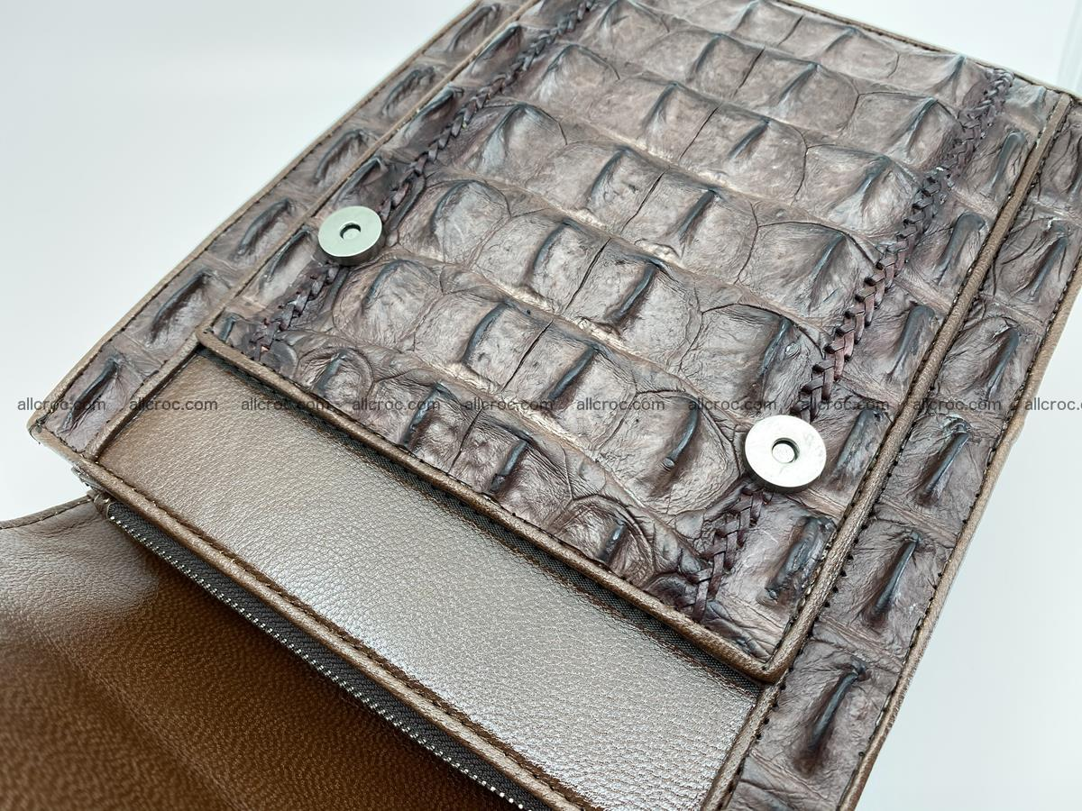 Crocodile leather handbag for men 693 Foto 6