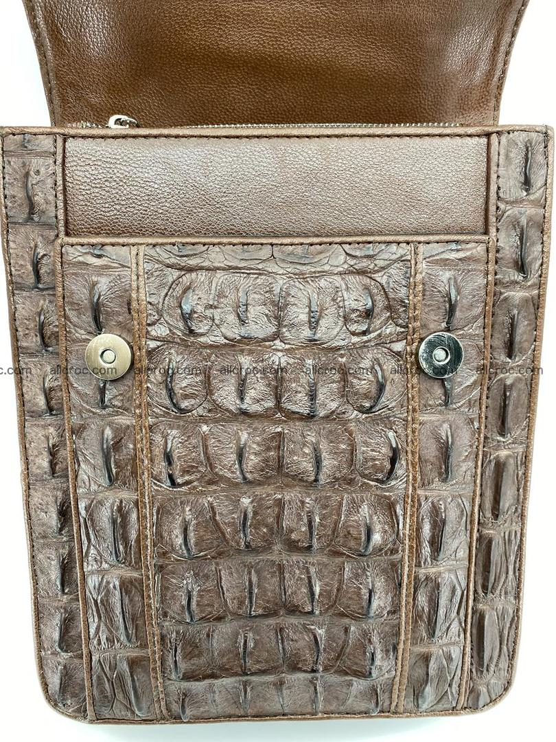 Crocodile leather handbag for men 694 Foto 2