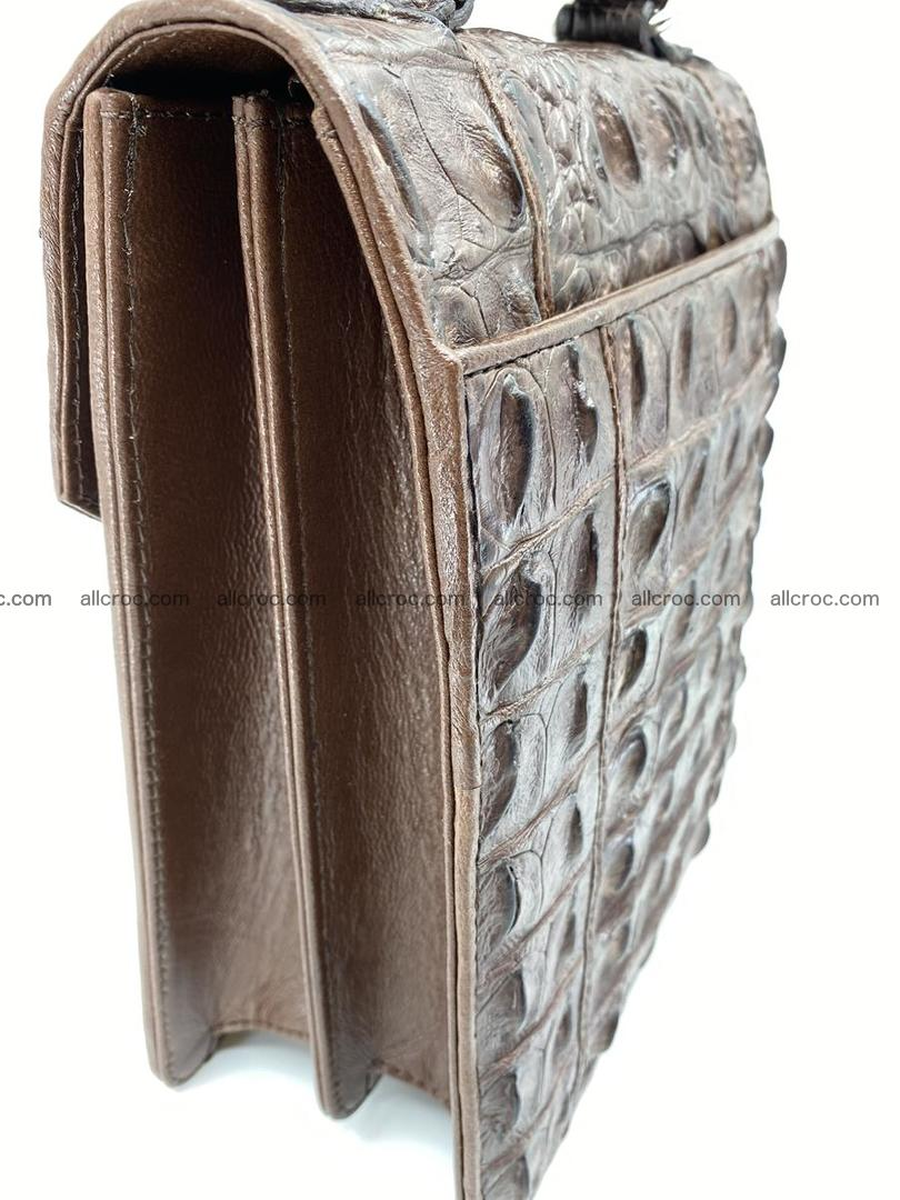 Crocodile leather handbag for men 694 Foto 4