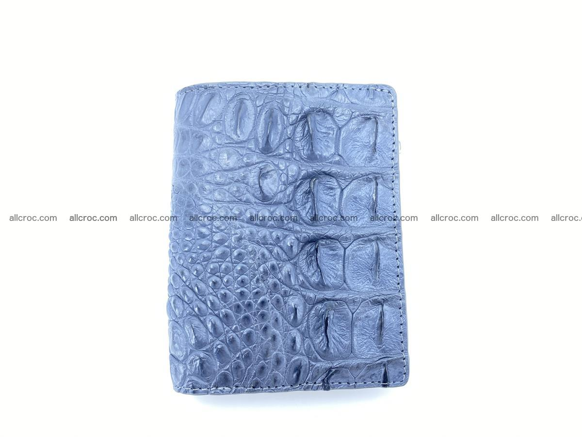 Crocodile leather vertical wallet HK 644 Foto 0
